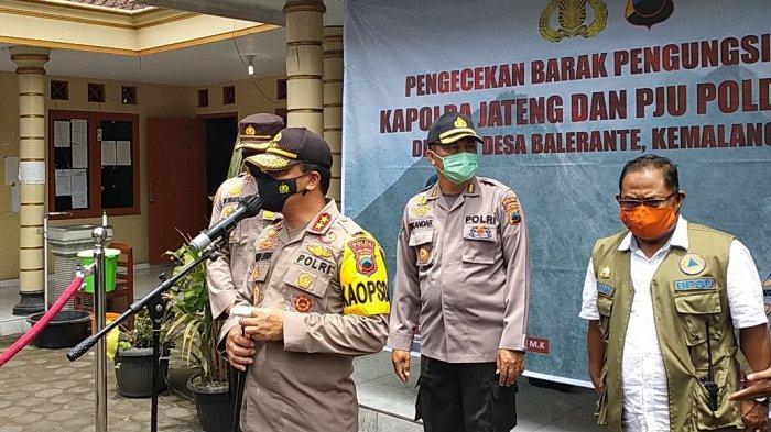 Kapolda Jateng Ahmad Luthfi Jamin Ternak Warga Merapi Aman : Ada Lokasi Khusus dan Dijaga Petugas