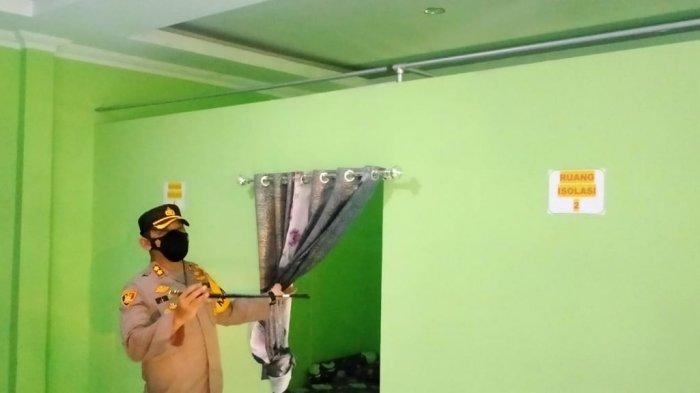 Kapolres Klaten Tinjau Pelaksanaan PPKM Mikro di Desa Kemudo, Singgung Penurunan Penyebaran Covid-19