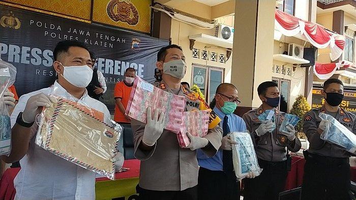 Kronologi Penangkapan Pengedar Uang Palsu Klaten : Diringkus Saat Hendak Transaksi