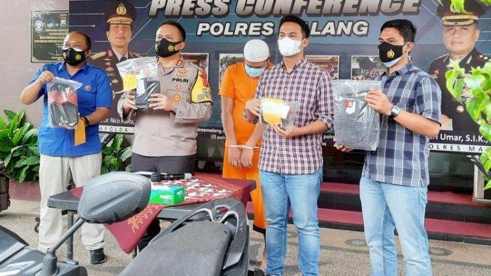 Modus Operasi Masker, Penjual Telor di KotaMalang Rampas 94 HP Korban, Mengaku Aparat