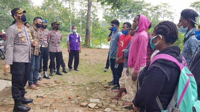 Kapolres Sragen Jadikan 10 Siswa SMA Asal Papua Sebagai Anak Asuh, Ternyata Begini Ceritanya