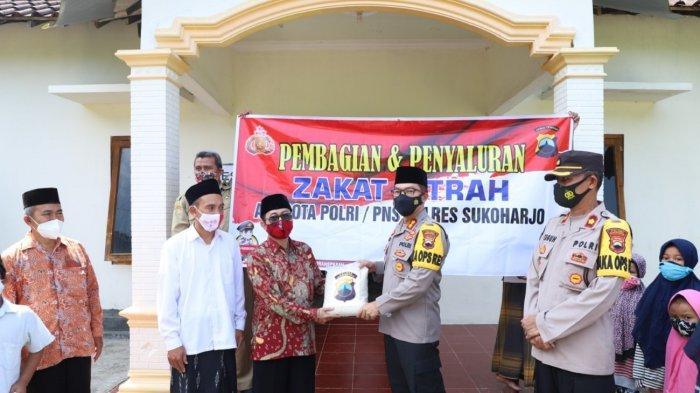 Tembus Rp 19 Juta, Polres Sukoharjo Mulai Berikan Zakat Fitrah, Sasar Ponpes hingga Masyarakat Umum