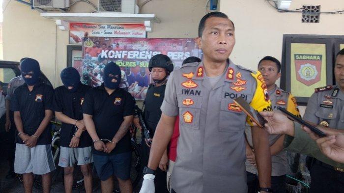 Polsek Sukoharjo Ciduk 3 Residivis Pencurian Diesel dan Sepada Ontel yang Resahkan Warga Sukoharjo