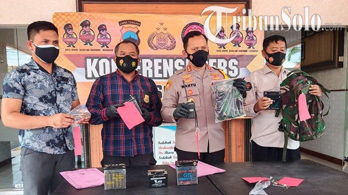 Ketahuan Curi Aki Motor Milik Petani di Sukoharjo, Pria Asal Klaten Ngaku Tentara Ternyata Gadungan