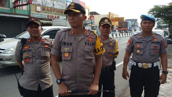Begini Upaya Personel Polres Sukoharjo Urai KemacetanMusim Mudik Lebaran 2019