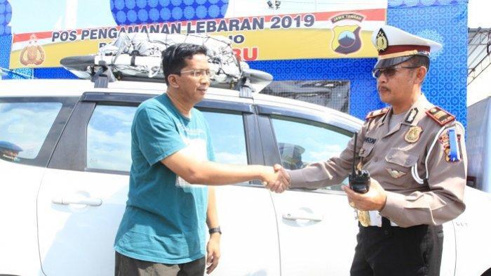 Polisi Berjaga di Tiap Titik Keramaian dan Kemacetan, Pemudik Merasa Aman