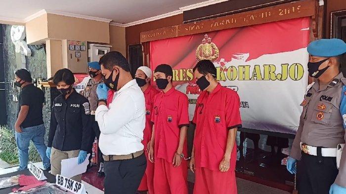 Lagi Asyik Pesta Sabu-sabu di Tengah Pandemi, 3 Pemuda Tak Berkutik Diciduk Polisi di Kos Kartasura