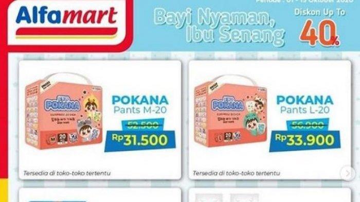 Promo Alfamart Hari Ini, 7 Oktober 2020 : Ada Diskon Produk Popok hingga Diskon Susu Bayi