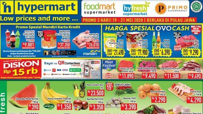 Daftar Promo Super Hemat Hypermart 22 Mei 2020, Dapatkan Harga Menarik dengan Pembayaran OVO Cash