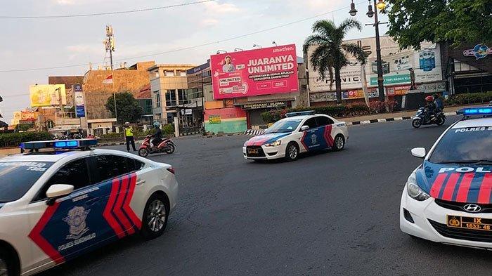 Presiden Jokowi Dikabarkan Pulang Kampung, Polisi Terpantau Lakukan Penjagaan di Tugu Kartasura
