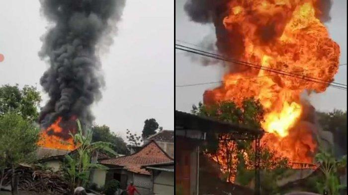 Tragedi Pilu Bocah Main Korek Api di Tanon Sragen, Kakek dan Cucu Meninggal Terbakar di dalam Rumah