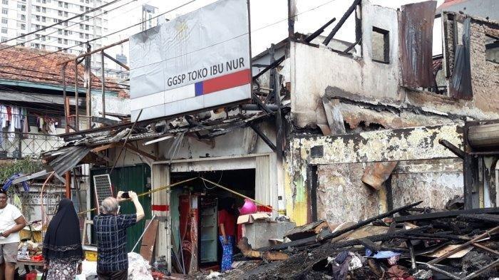 Kebakaran Pasar Kambing di Tanah Abang, Dua Orang Meninggal Dunia saat Terjebak di Kamar Mandi