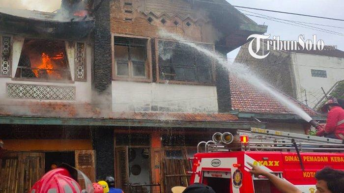 Rumah Kontrakan di Banjarsari Hangus Terbakar, Total Kerugian Ditaksir Rp 250 Juta