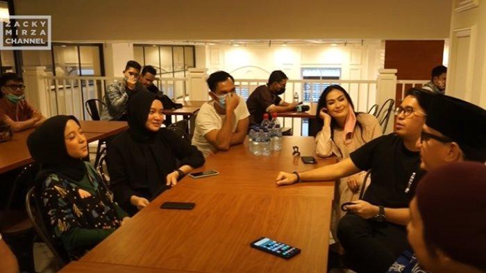 Kebersamaan pengisi acara Syair Ramadhan GTV 2020