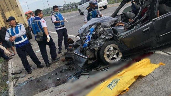 Kecelakaan di Tol Gempol Sebabkan Anak Istri Meninggal, Sopir Honda Civic Ini Tak Berhenti Menangis