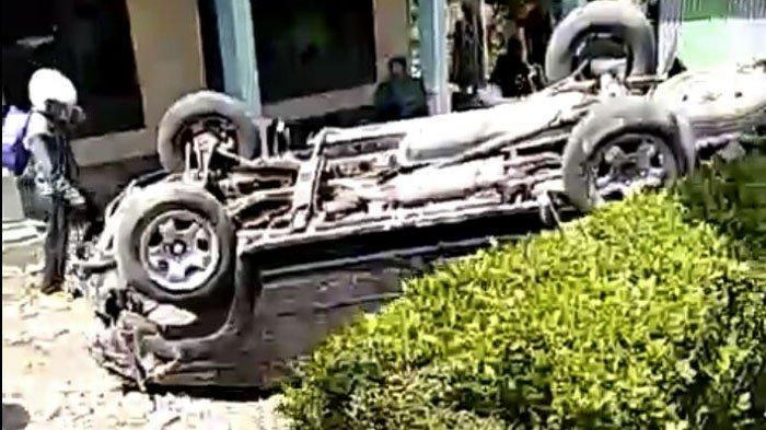 5 Fakta Kecelakaan Mautdi Gumantar Wonogiri: Mobil Terbalik, Driver Ojol Meninggal Dunia