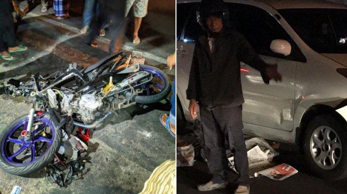 Kecelakaan Maut di Jalan Gajah Mada Solo : Kejar Lampu Merah, Pengendara Motor Tewas Dihantam Mobil