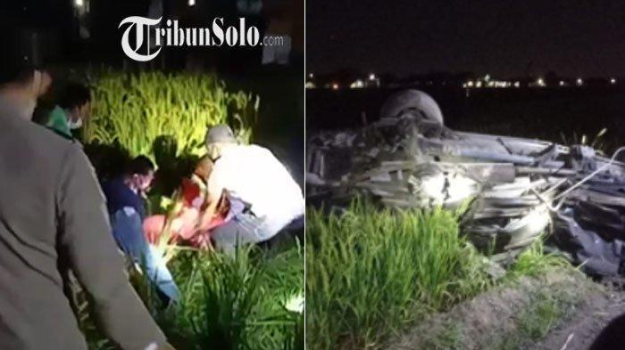 Pilu, Kecelakaan Maut Mobil Tersambar KA Gajayana di Sidoharjo Sragen : Hadi dan Istrinya Tewas
