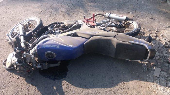 Adu Banteng Motor di Begajah Sukoharjo, Dua Orang Tewas, Sempat Tergeletak di Jalan