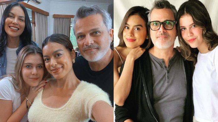 Tak Ada Ikatan Darah, Eva Celia Putri Sophia Latjuba Tetap Dekat dengan Michael Mantan Ayah Tirinya