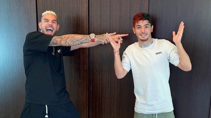 Tepati Janjinya Saat Kembali ke AC Milan, Brahim Diaz Ubah Warna Rambut jadi Hitam & Merah