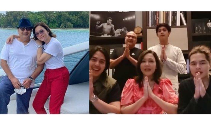 Irwan Mussry Suami Maia Estianty Menyapa Duluan Keluarga Ahmad Dhani & Mulan Jameela, Ramai Dipuji