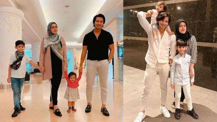 Keluarga Sonny Septian dan Fairuz A Rafiq