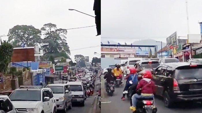Viral di Karanganyar, Wisatawan Membludak Naik ke Puncak Pasca Tawangmangu Dibuka, Balas Dendam?