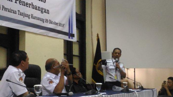 Penjelasan KNKT Tentang Pertemuan Tertutup dengan Keluarga Korban Lion Air JT 610 di Pangkal Pinang