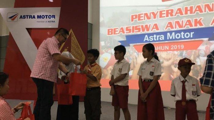 Astra Motor Jateng Berikan Beasiswa Pendidikan untuk 81 Anak Asuh