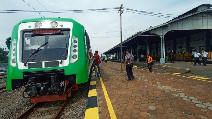 Kereta Bandara BIAS Singgah di Stasiun Klaten, akan Ada Jalur Baru Klaten-BIAS
