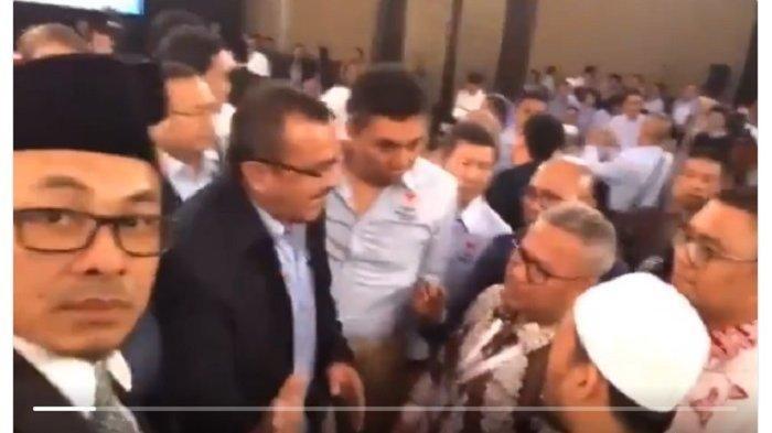 Beredar Video Kericuhan saat Jeda Debat Kedua Capres, Begini Penjelasan BPN Prabowo-Sandi