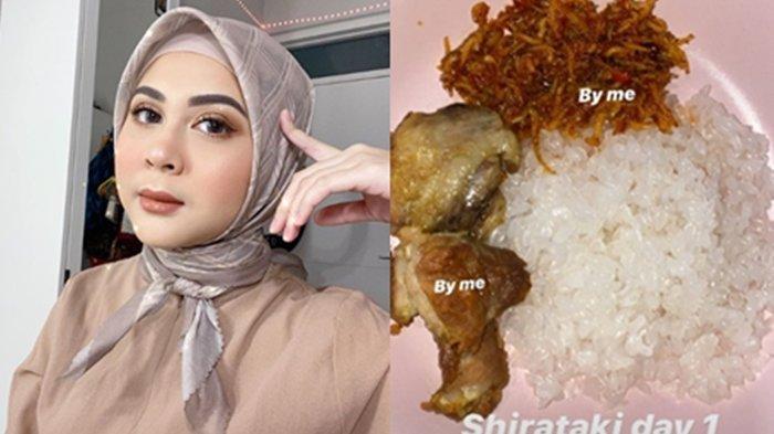 Kesha Ratuliu diet dengan nasi Shirataki.