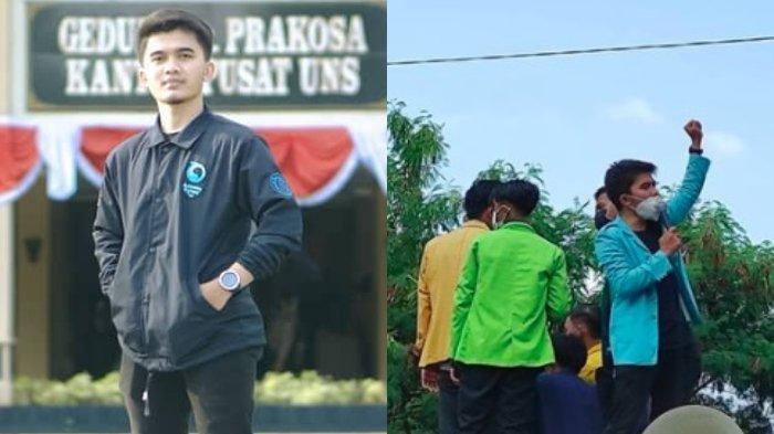 Mahasiswa yang Teriakkan Tuntutan pada Jokowi itu Ternyata dari UNS Solo, Pernah Sindir Puan