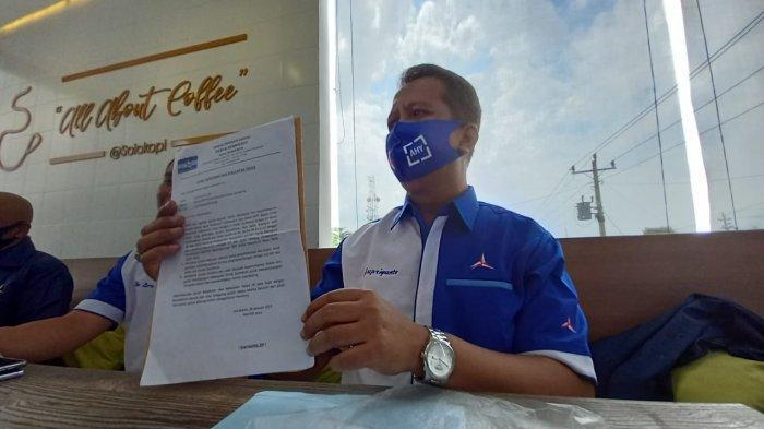 DPC Demokrat Solo Dukung SBY Urus HAKI Atas Nama Pribadi: Jangan Sampai KLB Deli Serdang Terulang