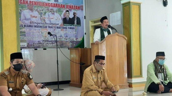 Ketua MUI Tanete Riattang Timur Bone Meninggal, Sempat Terdiam Saat Baca Doa Memandikan Jenazah