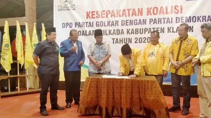 Golkar dan Demokrat Klaten Bersatu, Siapkan Calon Unggul Tumbangkan Jago PDIP di Pilkada Klaten 2020