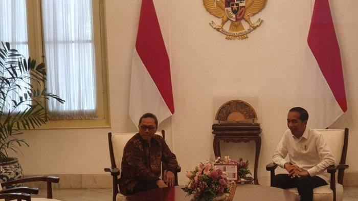 Ketum PAN Zulkifli dan Jokowi Gelar Pertemuan Tertutup di Istana, Bahas Koalisi?