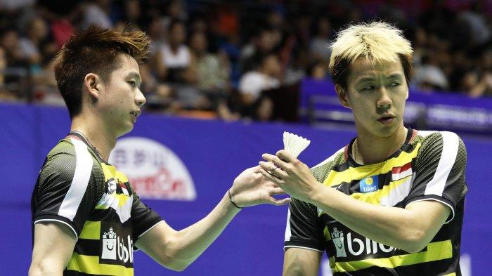 Link Live Streaming Semifinal China Open 2019: Kevin/Marcus Akan Melawan Fajar/Rian
