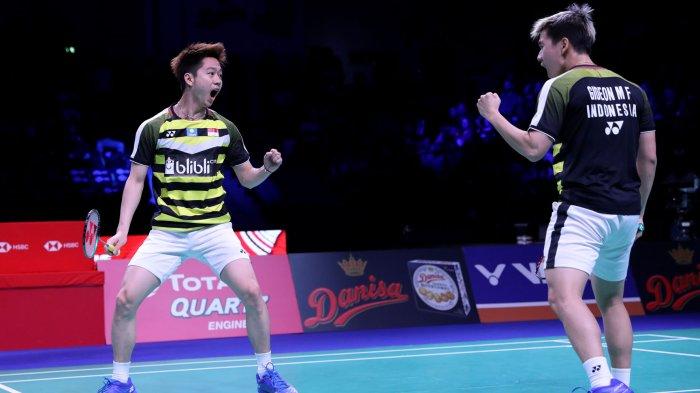 Hasil French Open 2019: Indonesia Raih 2 Gelar Juara dari Marcus/Kevin dan Praveen/Melati