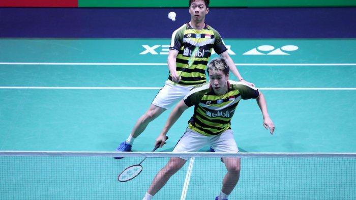 Live Streaming TVRI & Indosiar Ahsan/Hendra vs Aaron Chia/Soh Wooi Yik di Olimpiade 2020 Sore Ini