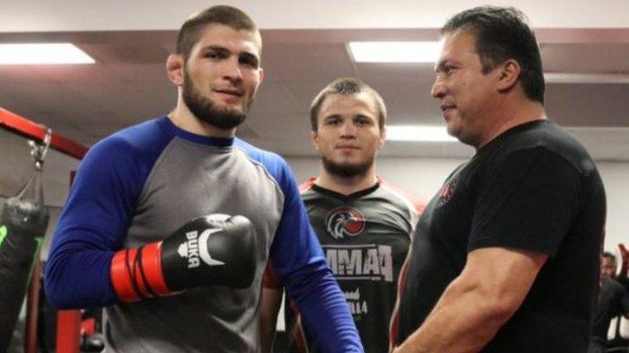 Awas Ngilu, Foto Kondisi Kaki Khabib Nurmagomedov yang Patah Jelang UFC 254