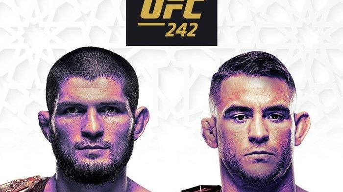 Hasil UFC 242 Khabib Nurmagomedov vs Dustin Poirier, The Eagle Pertahankan Gelar Juara