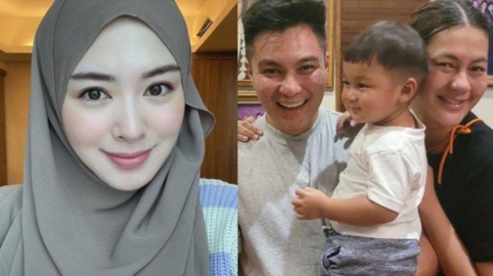 Kiano Anak Baim Wong Terpana Sambil Tersenyum Melihat Ayana Jihye Moon, Baim: Like Father Like Son