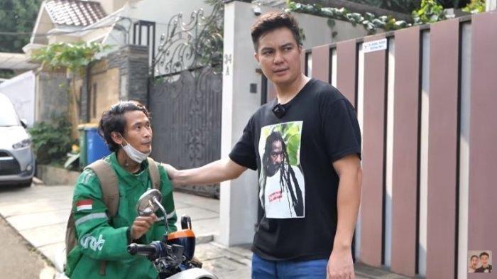 Tangis Driver Ojol Pecah Diberi Segepok Uang oleh Baim Wong, 1 Kejujurannya Ini yang Bawa Rezeki