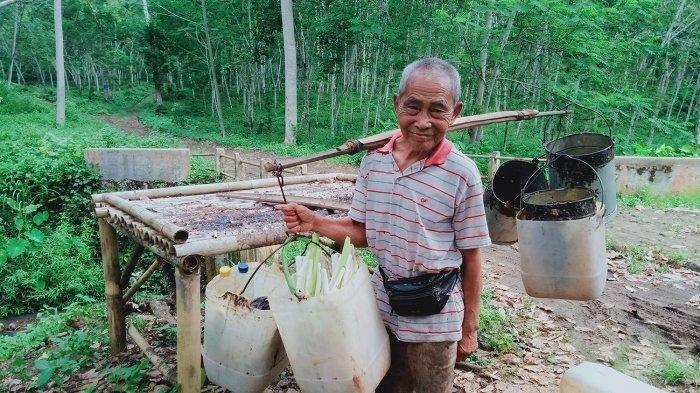Kisah Karso, Kakek Berusia 103 Tahun yang Sehat Bugar & Masih Kerja Keras, Ungkap Tips Panjang Umur