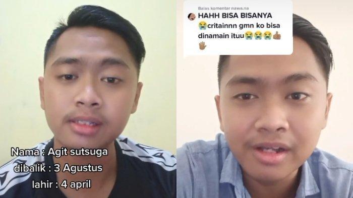 Viral Pemuda Bernama Agit Sutsuga, Diambil dari Kebalikan Tiga Agustus, tapi Lahir Bulan April