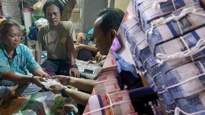 Sosok yang menemukan uang belasan juta rupiah Desi Natalia (42) mengembalikan uang yang ditemukannya kepada pemiliknya.