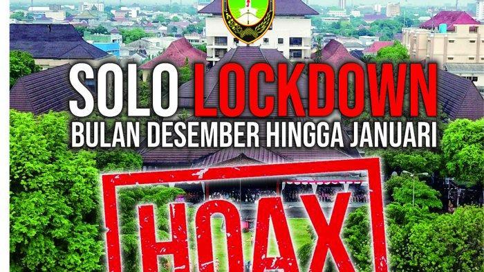 Beredar Pesan WA Solo Lockdown, Wali Kota Solo : Tidak Ada Lockdown, Tapi Pengetatan