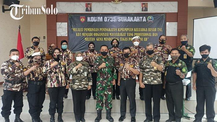Jalin Silaturahmi, Kodim 0735/Surakarta Bertemu dengan FKPPI dan Hipakad